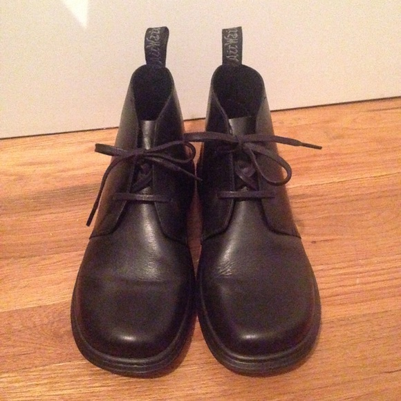 140ceaef4967c Dr. Martens Cynthia Black Boots UK6/US8 women